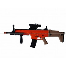 Scar Tactical bb gun 8902A in orange