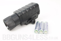 Cheap flashlight to fit BB gun rails
