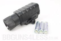 Cheap flashlight to fit BB gun rails