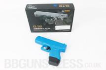 Galaxy G16 Full Metal Pistol BB Gun in Blue