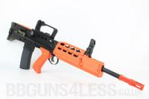 WE R012 L85 SA80 replica Gas Blow Back GBB Airsoft Rifle