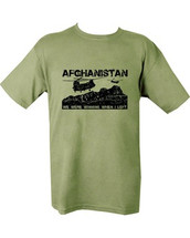 Afghanistan army T shirt