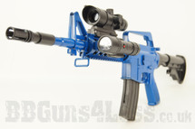 M16 No 8905A spring powerd rifle in blue