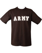 Army T Shirt in black