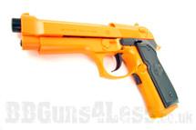 UHC M92F Electric Blowback Pistol bb gun in Orange