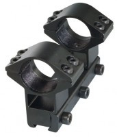 SMK One Piece double clamp - high 80mm short rail system