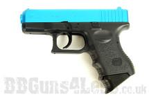 Tokyo Marui G26 Semi Auto Spring bb pistol in blue