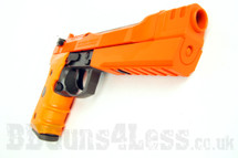HFC HG193 bbgun airsoft pistol in two tone orange