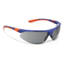 Stealth 9000 Blue & Orange Frame and Smoke Lens airsoft glasses