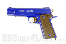 CYMA C10A Full Scale Colt Government Model Pistol in Full Metal