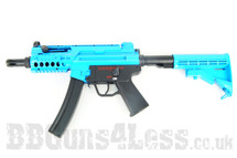 Galaxy G.5m Tactical Full Metal Gearbox AEG Rifle in Two Tone blue