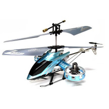 Z008 Mini / Micro 4ch RC Remote Control Helicopter RTF with Gyro and USB In Blue