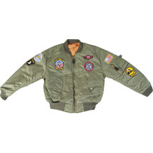Kids MA1 Army Flight jacket