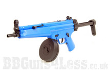 Well D95 Electric Drum Mag MP5 BB Gun In Blue