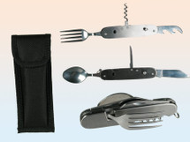 Swiss army travel cutlery set
