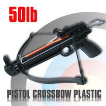 Plastic 50lb Pistol Crossbow