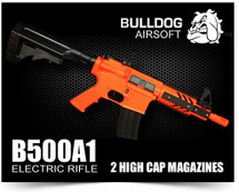 Bulldog B500A1 AEG Electric BB Gun Airsoft Rifle
