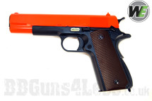 WE new series M1911 HICAPA Replica BB gun with gas blowback