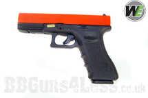 WE Glock 17 G Series gas blowback BB Pistol