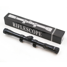 4X20 11mm Dovetail Rifle Scope in black