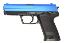 Y&P GGH0303B USP BB Gun - Gas NBB  in Blue