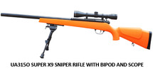 UHC Super x 9 Pro Sniper Rifle in orange
