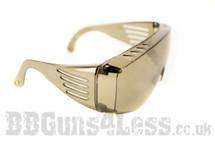 Dark Safety glasses for bb guns