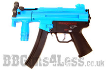 Galaxy G5K Tactical Full Metal Gearbox AEG Rifle in blue