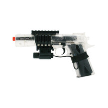 Colt 1911 with free laser Spring Powered bb gun