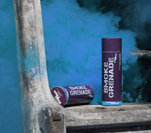 Enola Gaye Large Blue Smoke Grenade