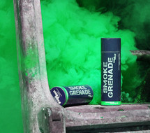 Enola Gaye Large Green Smoke Grenade