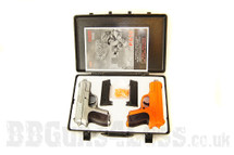 CYMA P618B twin pack with BB gun pistol Case