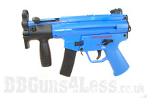 Well G55 MP5K Replica With Gas Blowback in Blue