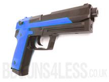 HFC HGC-305 Gas powered BB gun pistol in blue