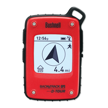 Bushnell BackTrack DTour Personal GPS Tracking Device in Red