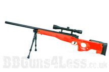 Well MB01 Warrior Mk3 L96 replica Sniper rifle in orange