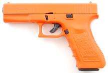 Blank firing E17 in orange full scale