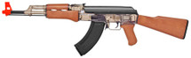 Kalashnikov AK47  and 1911a1 pistol spring Airsoft Guns in Clear Smoke