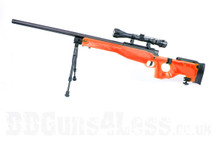 Well MB08 Warrior Sniper airsoft rifle in orange