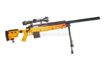 Well MB4406 Airsoft Spring Sniper rifle with scope & bipod in orange
