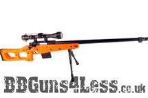 WELL MB4409D Style Airsoft Spring Sniper rifle in orange
