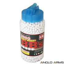 Anglo arms bb pellets 2000 x 0.20g Bottle in white
