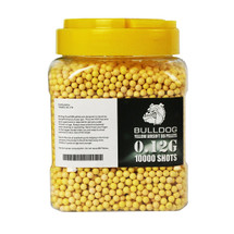 Bulldog BB pellets 10000 x 0.12g Tub in yellow