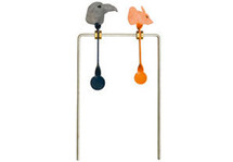 SMK Crow and Rat Double spinning target