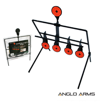 Anglo Arms Swinging Knock Down Target for air rifles 4+1