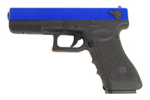 cyma cm030 blue electric airsoft pistol
