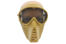 303 Airsoft mask with mesh in green