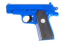 Galaxy G2 metal hand bb gun in blue