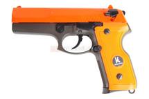 HFC HG160 UC M9 Metal Gas Gun airsoft pistol in orange