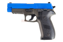 HFC HG175 Sig Sauer P226 Metal  blowback Gas Gun in blue